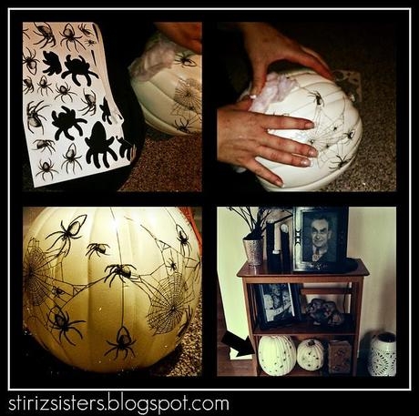 3rd Annual Halloween Party - Inside & Outside Decor