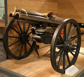 The Original Purpose of the Gatling Gun