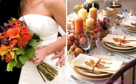 Thinking of a Thanksgiving Themed Wedding?