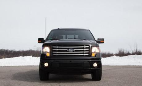 2011 Ford F-150 Harley-Davidson Front View