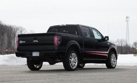 2011 Ford F-150 Harley-Davidson Rear Angle View