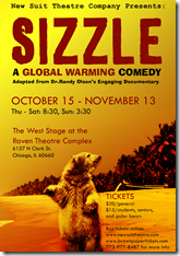 Sizzle - A Global Warming Comedy, New Suit Theatre