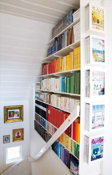A winter's day refuge: the home library