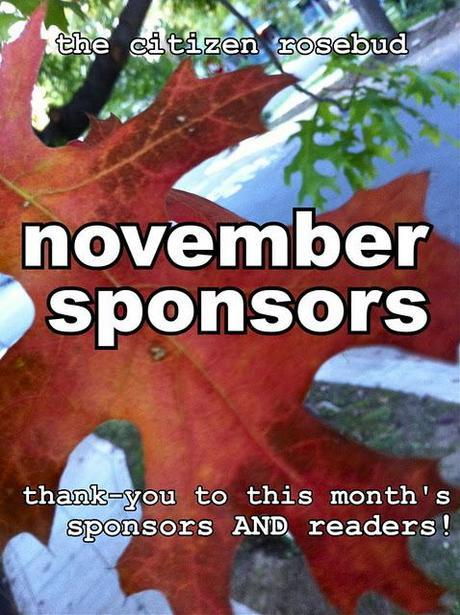 November Sponsors