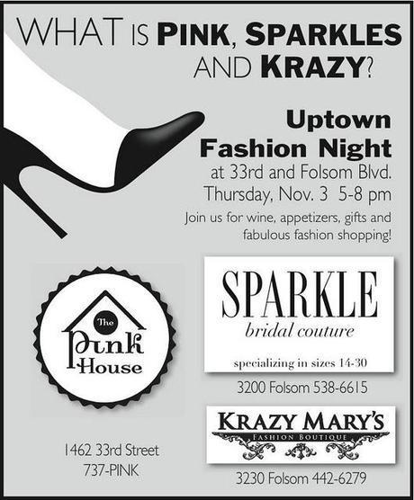 PINK SPARKLE KRAZY- Uptown Fashion Night