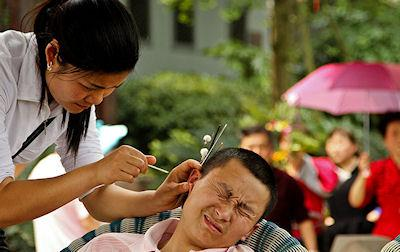 Japan's Ear-Cleaning Parlors