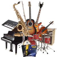 Musical instruments rental