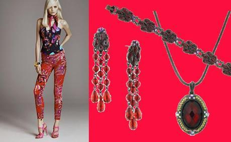 RED PANTSFashion Powerhouse: Versace and H&M Unite!