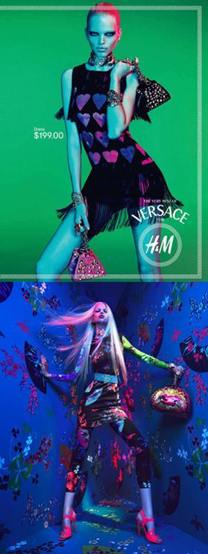 Versace HM AdsFashion Powerhouse: Versace and H&M Unite!