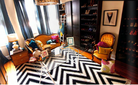 A Master Bedroom Turned Into An Amazing Closet Dressing