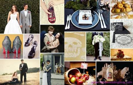 Have the perfect Halloween wedding with a Twilight theme