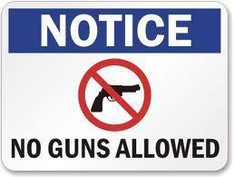 No Guns Allowed Signs for Wisconsin Businesses