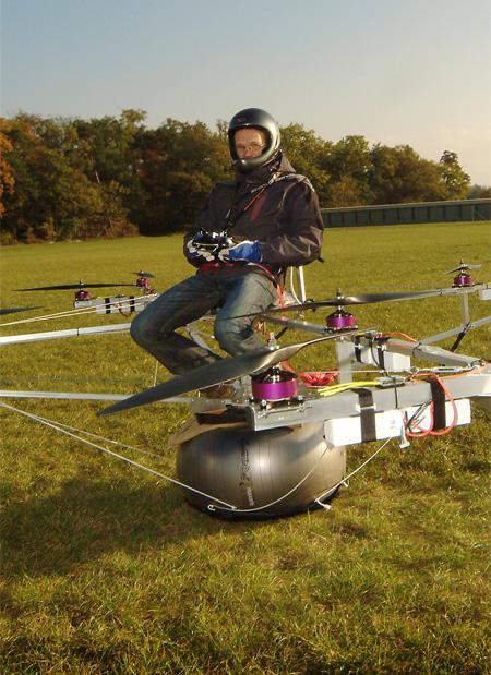 Amazing An Electric Multicopter 1