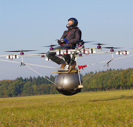 Amazing An Electric Multicopter 2