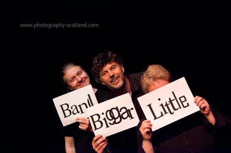 Photo - the Little Biggar Band from the Scottish Borders