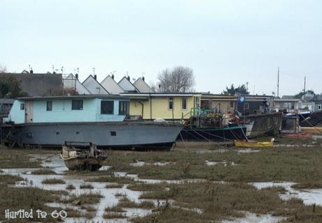 The Shoreham Beach Houseboats –  Weekly Photo Challenge : Windows