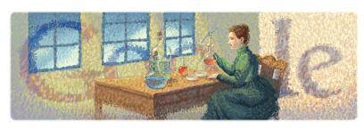 Google Doodle Commemorates Marie Curie On 144th Birth Anniversary