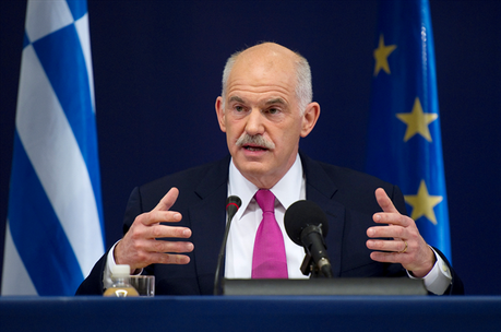 Could you do a George Papandreou?