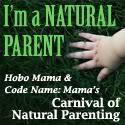 Carnival of Natural Parenting -- Hobo Mama and Code Name: Mama