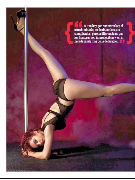 gimena gomez h para hombres magazine february 2014