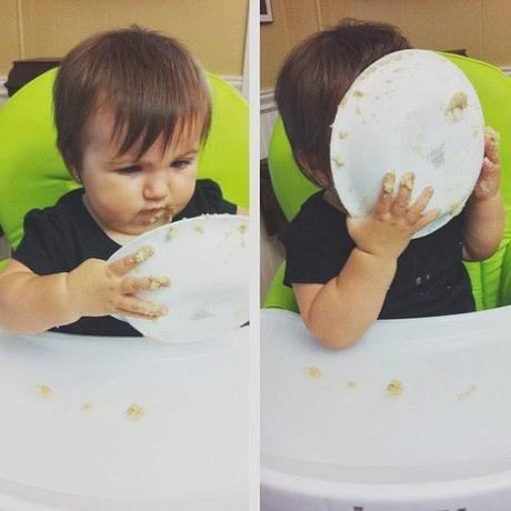 From Baby To Big Kid: Transitioning To Solids {Link Up}