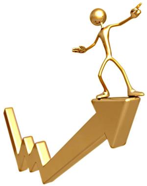 Gold Rising [courtesy Google Images]