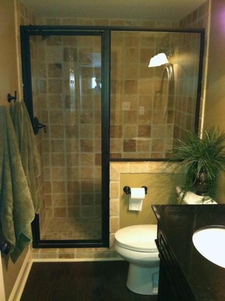 How To Make A Small Bathroom Feel Bigger   Glass Shower Door