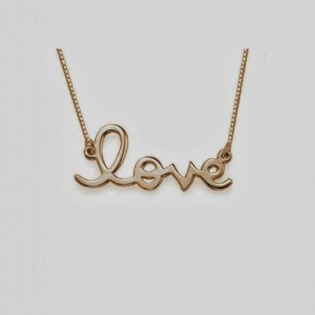 Valentine's Day Competition: Anna Lou of London Love Necklace