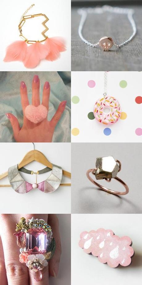 Jolly Jewellery: PRETTY IN PINK