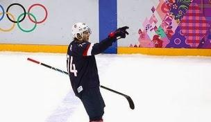 U.S. Men's Hockey Forward T.J. Oshie's Hockey Swing & Golf Swing Examined