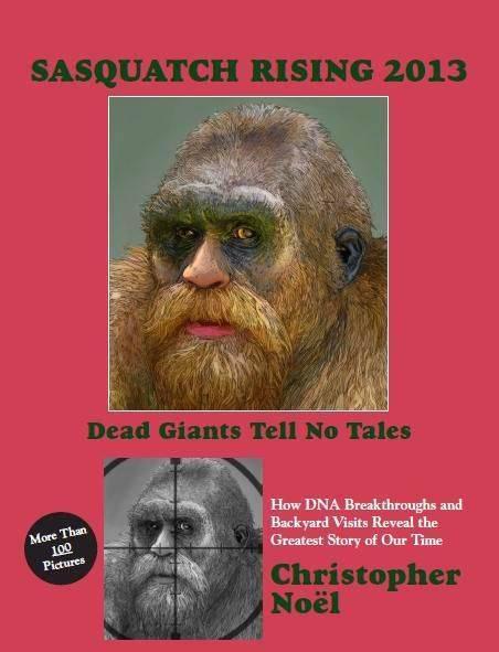 Noel's Sasquatch Rising 2013 book.