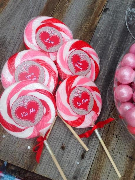 Candy And Kisses A Little Vintage Valentine S Candy Bar By