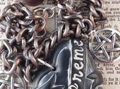 Supreme Witch Hearts Pentagram Necklace Ugly Shyla Kind