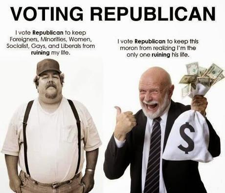 GOP = Nasty mix of HYPOCRISY and INTIMIDATION, topped with LIE sprinkles