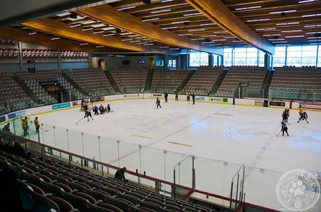 Hockey at WinSport COP