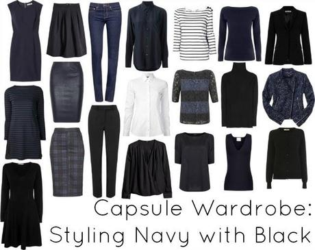 Ask Allie: Styling Navy with Black