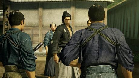 Yakuza Ishin PS4 gets beautiful new 1080p screens