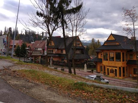 Zakopane Style Architecture in the Carpathian Mountains