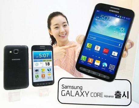 Samsung launches the Galaxy Core Advance