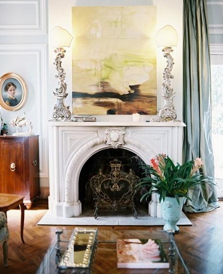 marble mantel