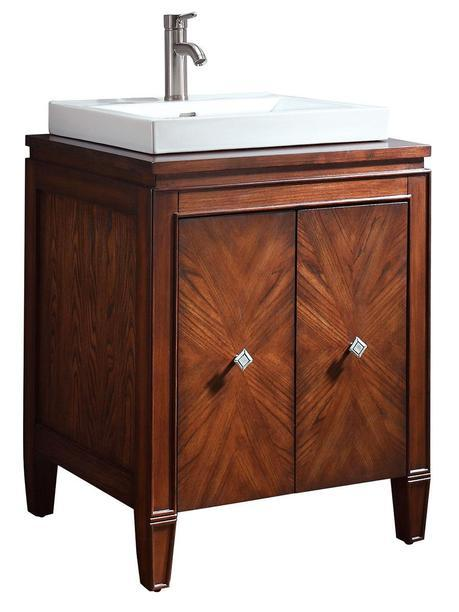 25 Inch Mortino Single Bath Vanity Brentwood