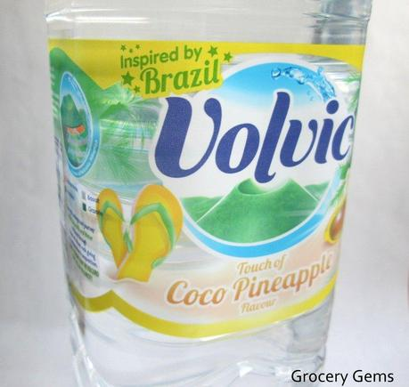 Review: Volvic Touch Of Coco Pineapple Inspired by Brazil