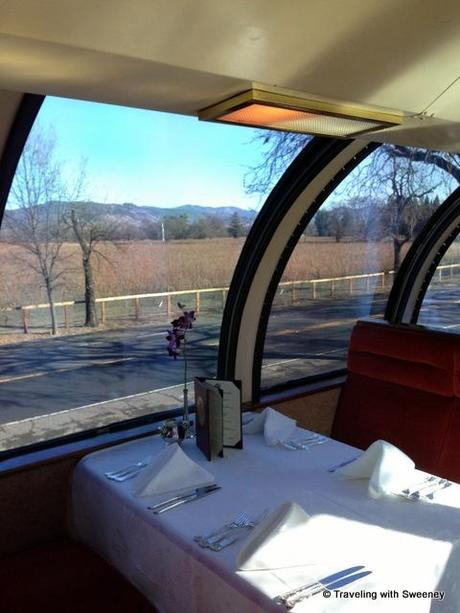 Second Date on the Napa Valley Wine Train
