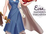 Disney Princesses Dressed Cast 'Game Thrones'