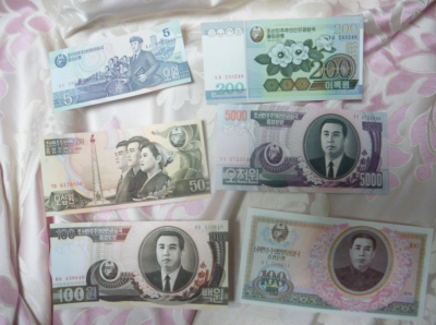 north korean notes