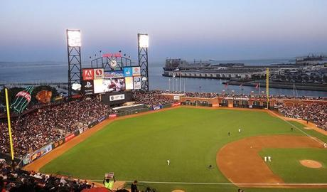 View from AT&T Park