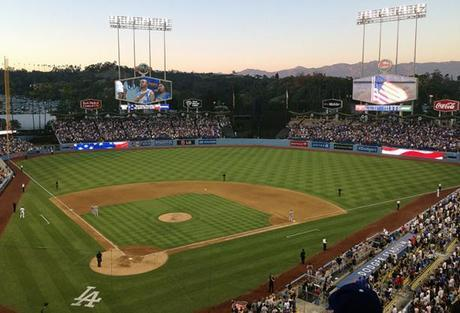 View from Dodger Stadium