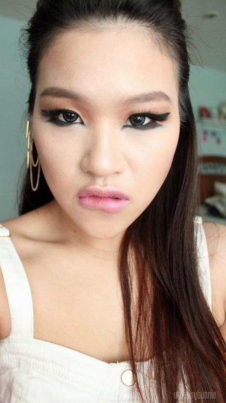 2NE1 CL Birthday Makeup Look