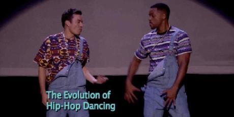 Jimmy Fallon and Will Smith Present The Evolution of Hip Hop Dancing