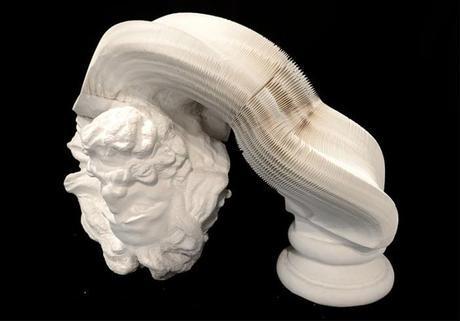 Li Hongbo's Incredible Flexible Paper Sculptures